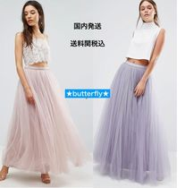 ASOS Flared Skirts Plain Long Party Style Maxi Skirts