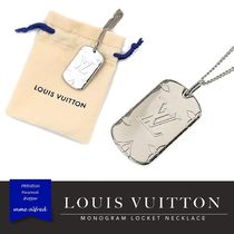 Louis Vuitton Monogram Metal Necklaces & Chokers