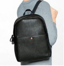 Calvin Klein Casual Style Faux Fur Street Style Plain Backpacks
