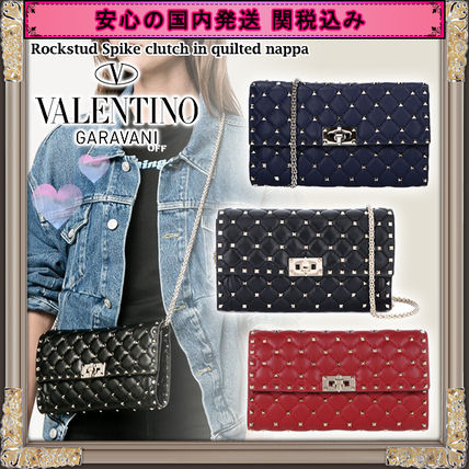 2WAY With Jewels Shoulder Bags