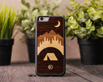 Unisex Handmade Made of Wood Smart Phone Cases