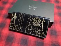 Berluti Leather Folding Wallet Long Wallets