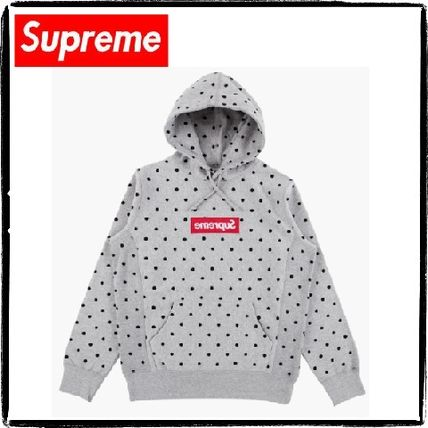 Supreme Hoodies Pullovers Dots Sweat Street Style Collaboration Long Sleeves