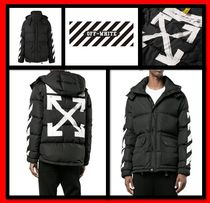 Off-White Street Style Down Jackets