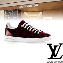 Louis Vuitton Monoglam Rubber Sole Casual Style Low-Top Sneakers