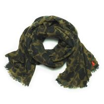 POLO RALPH LAUREN Camouflage Wool Scarves
