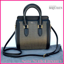 alexander mcqueen Studded 2WAY Leather Shoulder Bags