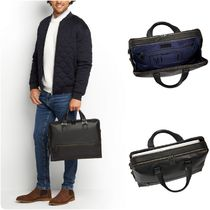 TUMI A4 3WAY Plain Leather Business & Briefcases