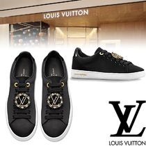 Louis Vuitton Rubber Sole Casual Style Plain Low-Top Sneakers