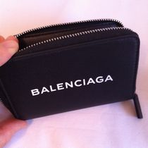 BALENCIAGA Leather Coin Cases