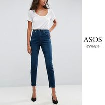 ASOS Casual Style Plain Cotton Long Skinny Jeans