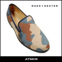 Camouflage Street Style Loafers & Slip-ons