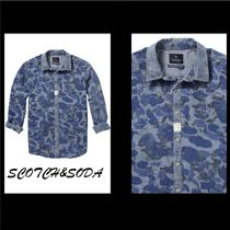 Scotch & Soda Camouflage Other Animal Patterns Shirts