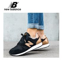 New Balance Rubber Sole Casual Style Street Style Plain Low-Top Sneakers