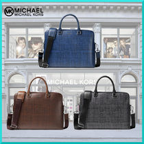 Michael Kors Other Check Patterns 2WAY Leather Business & Briefcases