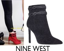 Nine West Suede Street Style Plain Pin Heels Party Style Midi