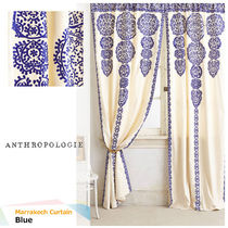 Anthropologie Handmade Ethnic Curtains