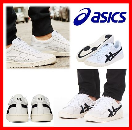 Casual Style Unisex Street Style Leather Low-Top Sneakers