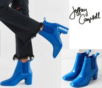 Jeffrey Campbell Plain Block Heels Ankle & Booties Boots