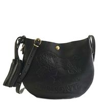 IL BISONTE Casual Style Leather Crossbody Shoulder Bags