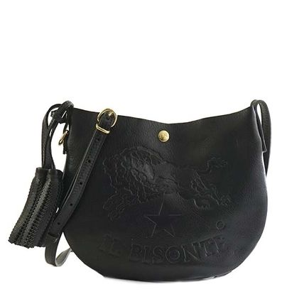 Casual Style Leather Crossbody Shoulder Bags
