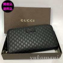 GUCCI GG Marmont Leather Long Wallets