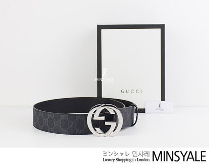 e180c14c608 ... GUCCI Belts GG Supreme belt G buckle  London department store new item   ...
