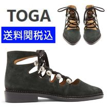 TOGA Suede Party Style Flats