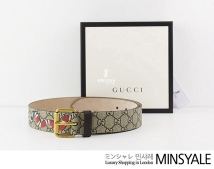 c225448b507 GUCCI GG Supreme belt  London department store new item  by MINSYALE ...