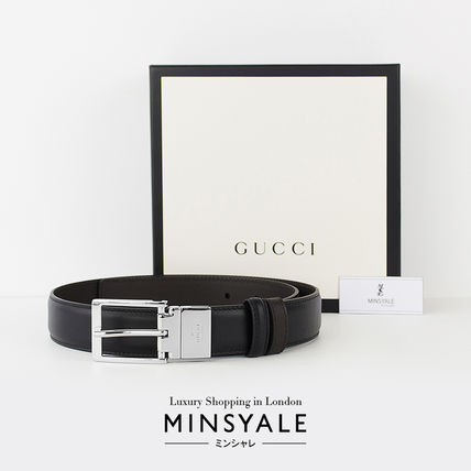 f12c85b7666 ... GUCCI Belts Reversible leather belt  London department store new item   ...