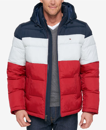 c9078769131 ... Tommy Hilfiger Down Jackets Short Street Style Plain Oversized Down  Jackets ...