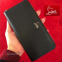 Christian Louboutin Panettone  Leather Long Wallets
