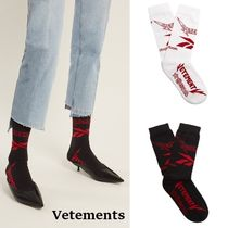 VETEMENTS Plain Cotton Socks & Tights