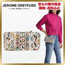 Jerome Dreyfuss 2WAY Chain Other Animal Patterns Leather Elegant Style