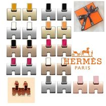 HERMES Costume Jewelry Elegant Style Earrings & Piercings