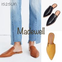 Madewell Casual Style Plain Leather Slippers Slip-On Shoes