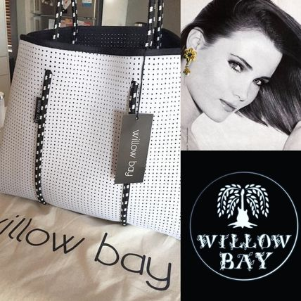 willow bay Unisex Street Style Activewear Bags