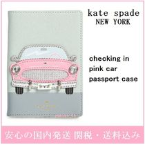 kate spade new york Soft Type With Jewels Passport Cases