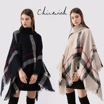 Chicwish Stripes Tassel Ponchos & Capes