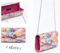Sfera Flower Patterns 2WAY Chain Party Style Clutches