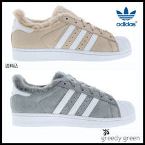 adidas SUPERSTAR Leather Low-Top Sneakers