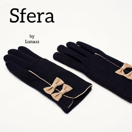 Casual Style Plain Gloves Gloves