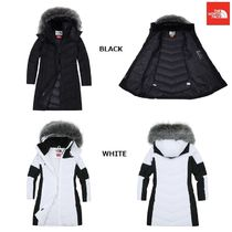 THE NORTH FACE Argile Wool Street Style Plain Long Bold Down Jackets