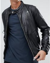 G-Star Leather Biker Jackets