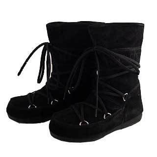 Casual Style Fur Plain Boots Boots