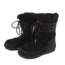 MOON BOOT Casual Style Fur Plain Boots Boots
