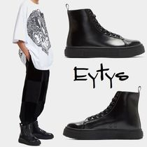 Eytys Unisex Plain Leather Boots