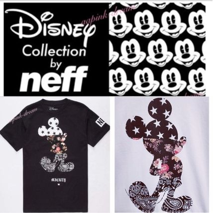 NEFF More T-Shirts Star Tropical Patterns Unisex Street Style Collaboration