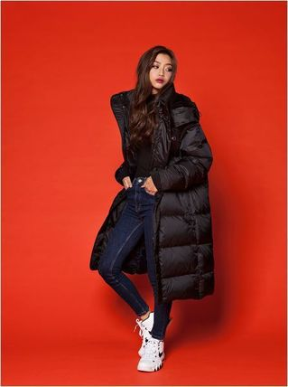 Unisex Street Style Long Down Jackets