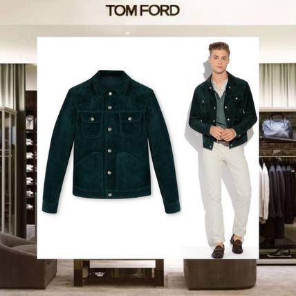 fec7e323223af5 TOM FORD 2018 SS Short Suede Plain Jackets by Absorb - BUYMA